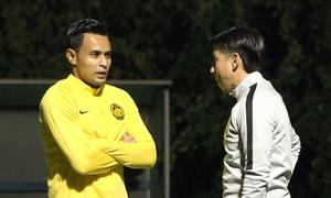 Cầu thủ Malaysia khẳng định chơi tốt dù trời rét