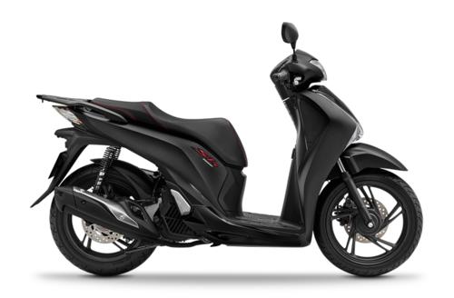 Honda SH150 phiên bản đen mờ mới.