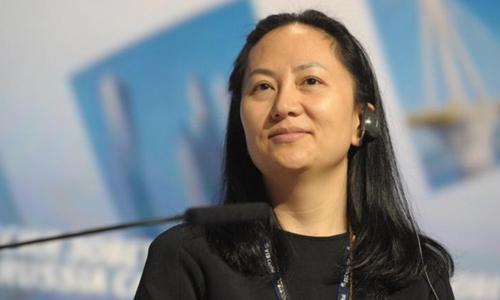 Giám đốc tài chính Huawei Mạnh Vãn Chu. Ảnh: CNN.
