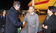 Mỹ liệt máy bay chở Tổng thống Hàn vào danh sách đen
