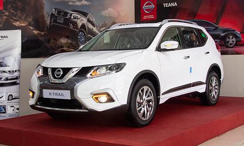 Nissan X-Trail V-Series trưng bày tại đại lý. Ảnh: Nissan Cần Thơ.
