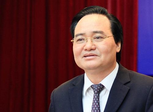 Bộ trưởng Phùng Xuân Nhạ phát biểu tại tọa đàm. Ảnh: Dương Tâm