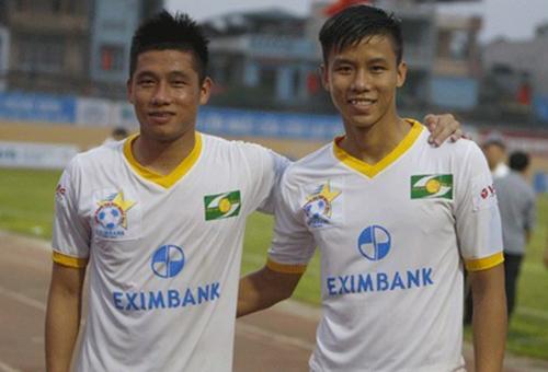 Quế Ngọc Hải và anh trai Ngọc Mạnh (trái). Ảnh: NVCC