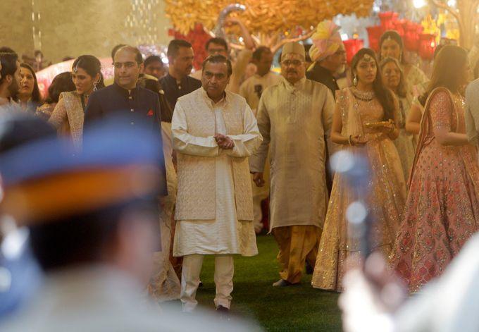 Đám cưới 100 triệu USD của con gái tỷ phú giàu nhất Ấn Độ