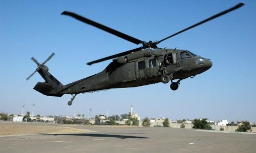 Một trực thăng UH-60 Black Hawk. Ảnh: Wikipedia.