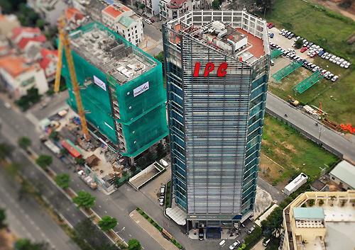 Tòa nhà trụ sở Công ty TNHH MTV phát triển công nghiệp Tân Thuận (IPC). Ảnh: Hữu Khoa.