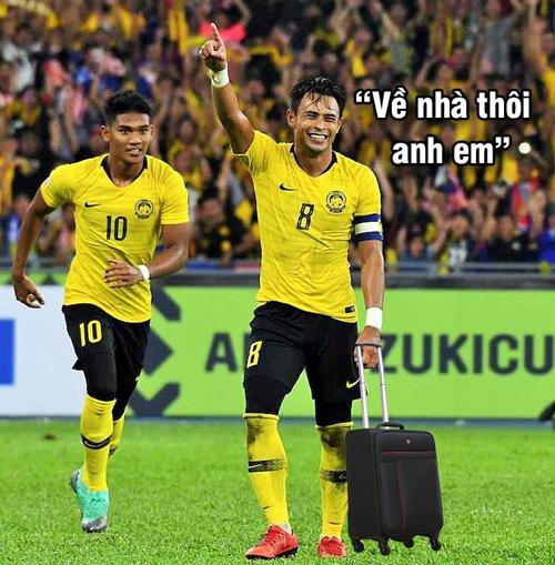 Các cầu thủ Malaysia cũng không có gì phải buồn.