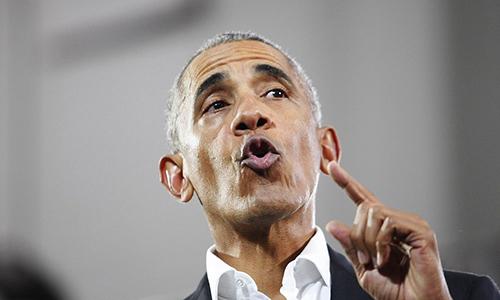 Cựu tổng thống Mỹ Barack Obama. Ảnh: