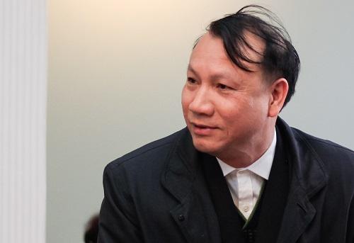 Thầy Nguyễn Đức Sơn. Ảnh:Dương Tâm