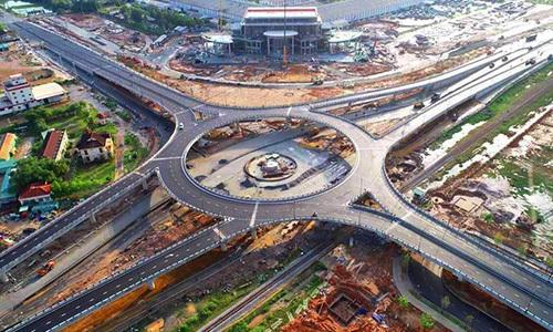 Khánh thành nút giao thông hai tầng đầu tiên ở Quảng Nam