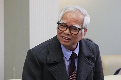 Thầy Nguyễn Văn Hòa. Ảnh: Dương Tâm