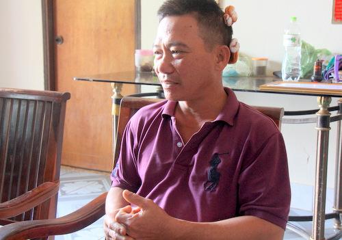 Ông Trần Vĩ Đại. Ảnh: Nguyễn Khoa.
