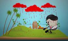 Ba tác nhân gây hiện tượng mưa máu