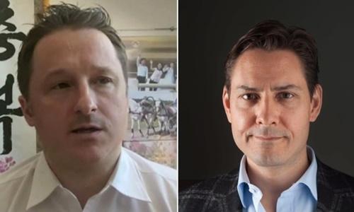 Michael Spavor (trái) và Michael Kovrig, hai công dân Canana bị Trung Quốc bắt. Ảnh: AP.