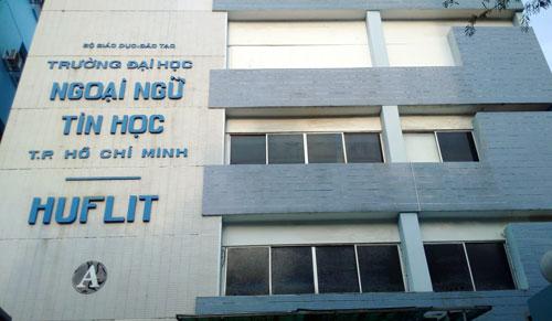 Đại học Ngoại ngữ - Tin học TP HCM. Ảnh: Mạnh Tùng.