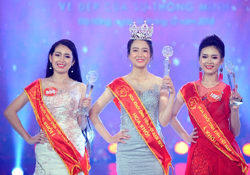 Cô gái Huế trở thành Hoa khôi sinh viên Việt Nam 2018