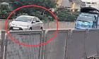 Lùi ôtô ở đường trên cao, tài xế bị tước bằng lái