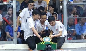 Cuộc thi robot đối kháng của sinh viên Sài Gòn