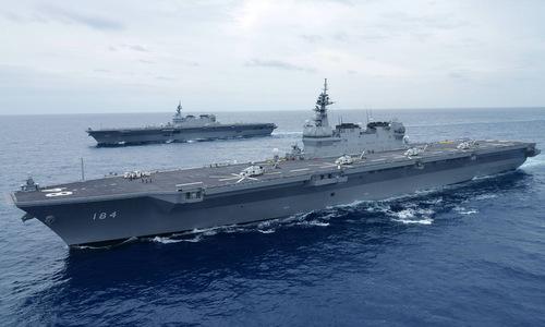 Nhật tăng cường sức mạnh quân sự để đối phó Nga, Trung