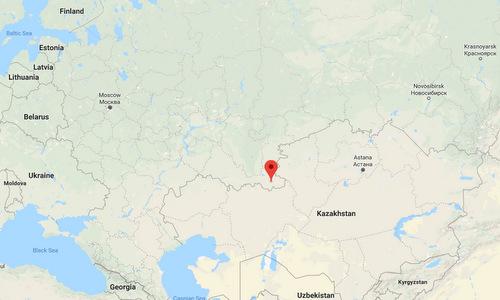 Địa điểm đóng quân của Sư đoàn Dombarovsky tại tỉnh Orenburg. Đồ họa: Google Maps.
