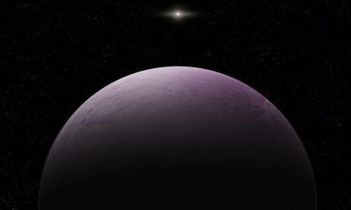 Minh họa thiên thể màu hồng 2018 VG18. Ảnh: Roberto Molar Candanosa.