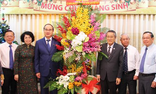 Ông Nguyễn Thiện Nhân chúc mừng Giáng sinh Hội thánh Tin lành Việt Nam