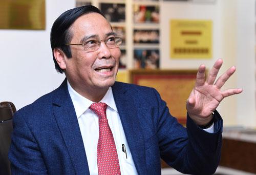 Phó trưởng ban thường trực Ban Tổ chức Trung ương Nguyễn Thanh Bình. Ảnh: Giang Huy
