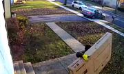 Tên trộm vụng về chạy trốn cùng chiếc tivi 65 inch