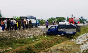 Tai nạn ôtô liên hoàn ở Hà Tĩnh