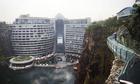 Trung Quốc mở cửa cầu đáy kính trong mỏ đá sâu 88 m
