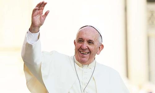 Giáo hoàng Francis tại Quảng trường Thánh Phêrô năm 2016. Ảnh: CNA.