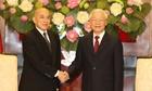 Quốc vương Campuchia nghỉ dưỡng ở Việt Nam
