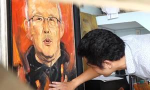 Bức chân dung HLV Park Hang Seo sẽ được đấu giá từ 117 triệu đồng
