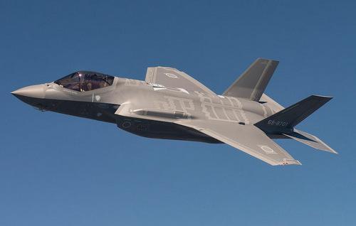 Tiêm kích F-35A đầu tiên trong biên chế Nhật Bản. Ảnh: JASDF.