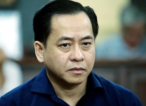 Vũ Nhôm tại tòa sáng nay. Ảnh: Thành Nguyễn.