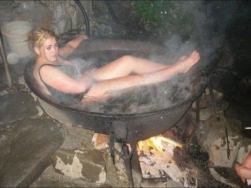 Bí kíp tắm cho mùa đông không lạnh.