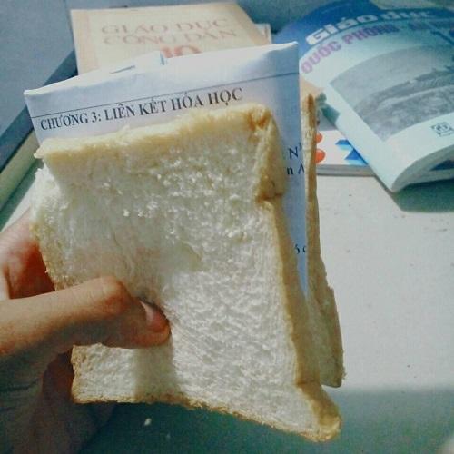 Bánh mì bổ dưỡng cho mùa thi.