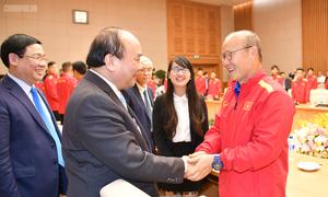 Thủ tướng Nguyễn Xuân Phúc khen thưởng nhà vô địch AFF Cup 2018