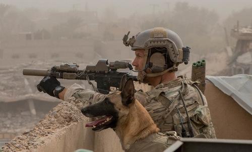Đặc nhiệm Mỹ triển khai ở đông Syria đầu năm nay. Ảnh: Military Times.
