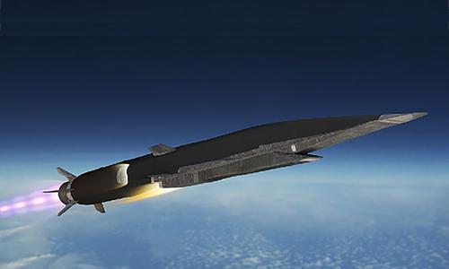 Đồ họa tên lửa siêu vượt âm 3M22 Tsirkon. Ảnh: RBTH.