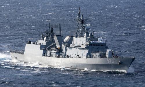 Một tàu khu trục lớp Gwanggaeto Thái vương của Hàn Quốc. Ảnh: Wikipedia.