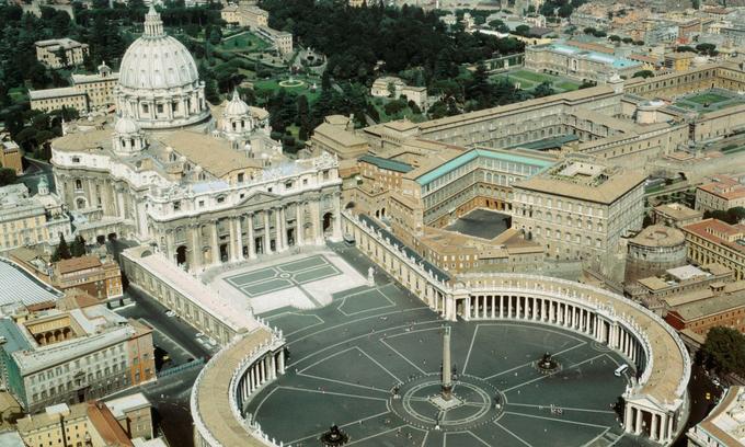 Nhà thờ nơi Giáo hoàng cử hành lễ Giáng sinh