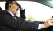 Khoảnh khắc tà i xế ôtô chạy 115 km/h suýt chết vì ngủ gật