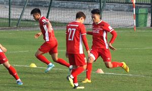 Thành Chung tự tin thay thế trung vệ Đình Trọng ở Asian Cup