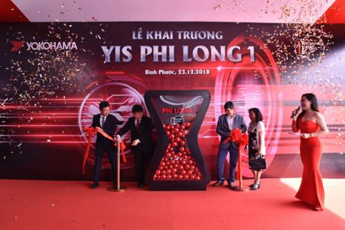 Cửa hàng kiểu mẫu YIS đầu tiên tại Bình Phước.
