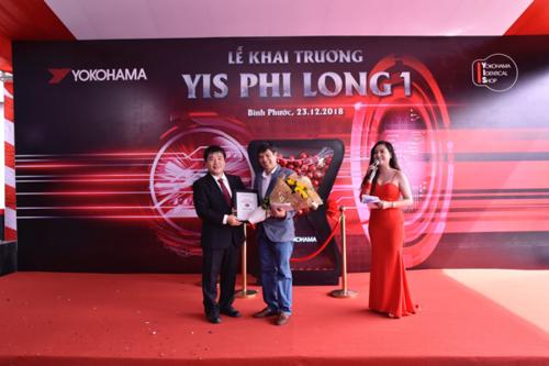 Yokohama Tyre Việt Nam tiếp tục mở rộng mô hình YIS dành cho những người yêu xe và muốn chăm sóc xe tốt hơn trên toàn quốc.