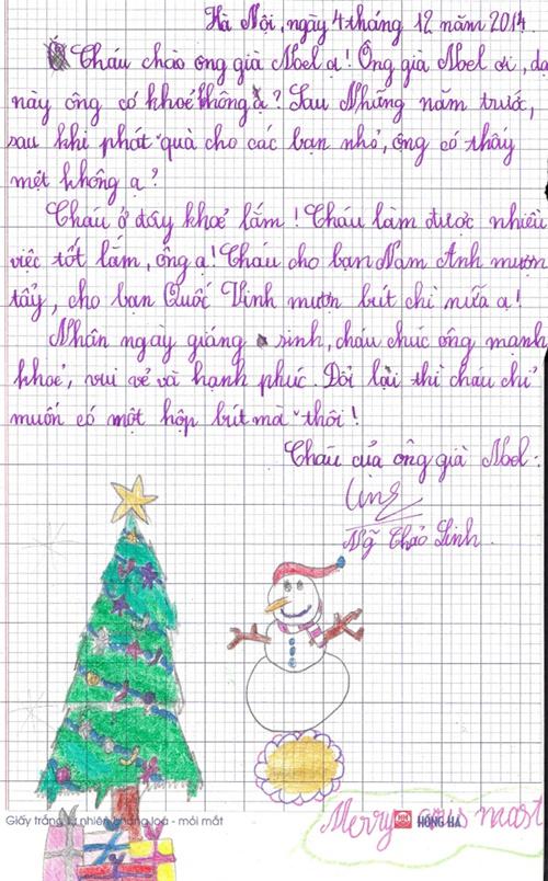 Những tâm thư hài hước đòi quà ông già Noel của trẻ con - 3