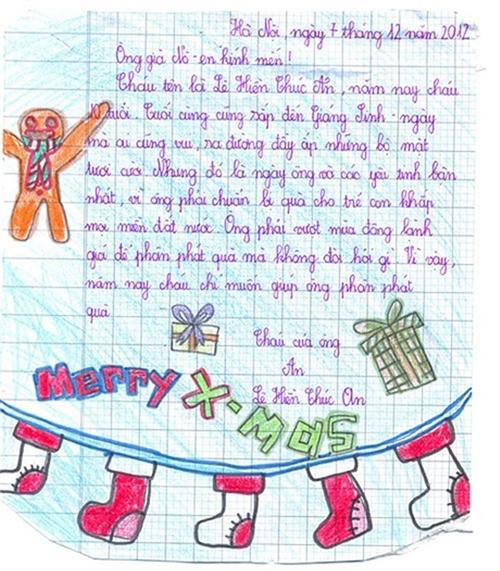 Những tâm thư hài hước đòi quà ông già Noel của trẻ con - 7