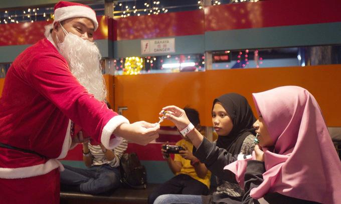 Ông già Noel từ Phần Lan lên đường đi phát quà Giáng sinh