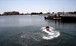 Chiếc phao tự định vị cứu hộ người đuối nước